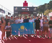 Kazakhstani Ironmen storm the  Ironman 140.6 Barcelona